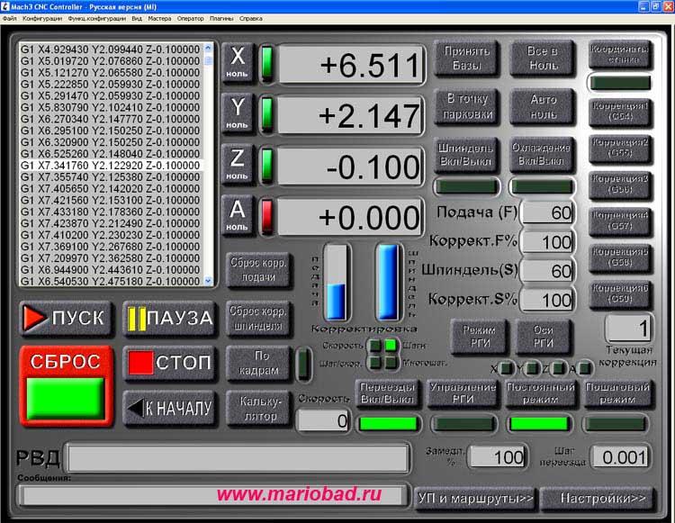 Программы для станков с ЧПУ CNC.